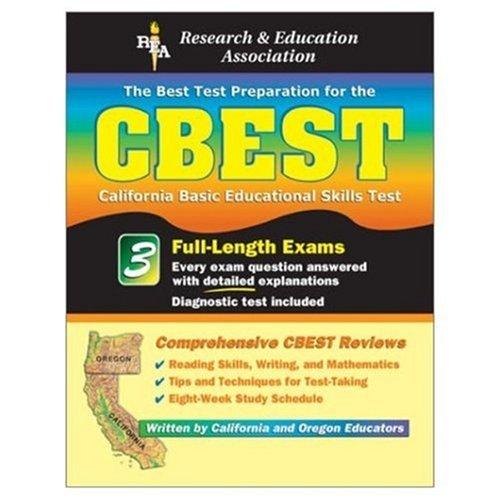 9780878914098: CBEST: The Best Test Preparation for the California Basic Educational Skills Test (REA Test Preps)