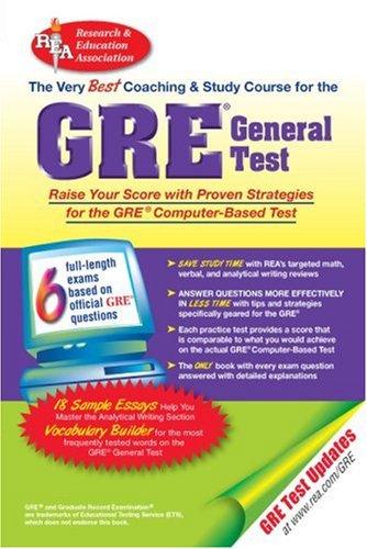 9780878914456: GRE General Test (GRE Test Preparation)