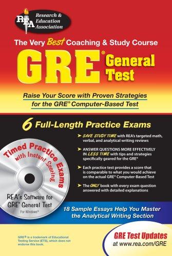 9780878914463: GRE General Test w/ CD-ROM (GRE Test Preparation)