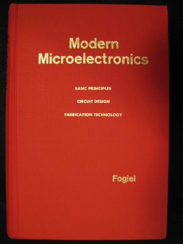 Modern Microelectronics: Fogiel, Dr. Max