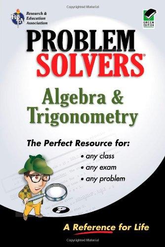 9780878915088: Algebra & Trigonometry Problem Solver (Problem Solvers Solution Guides)