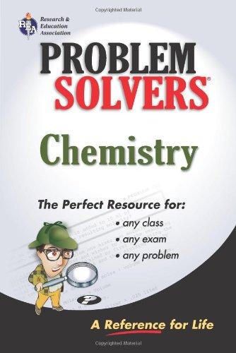 9780878915095: Chemistry Problem Solver (Problem Solvers Solution Guides)