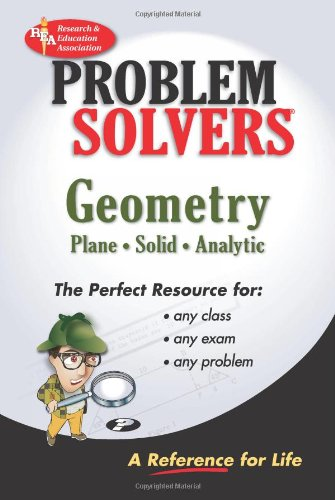 9780878915101: Geometry - Plane, Solid & Analytic Problem Solver: A Complete Solution Guide to Any Textbook (Problem Solvers)