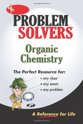 9780878915125: Organic Chemistry Problem Solver (Problem Solvers Solution Guides)
