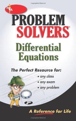 9780878915132: Differential Equations Problem Solver (Problem Solvers)