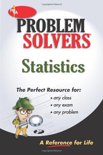 9780878915156: Statistics Problem Solver (Problem Solvers Solution Guides)