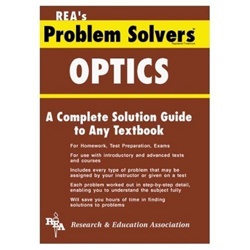 9780878915262: Optics Problem Solver (Problem Solvers Solution Guides)