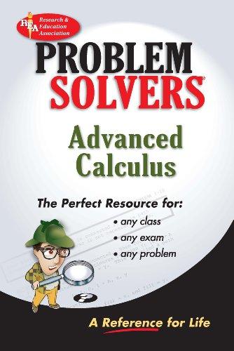 9780878915330: Advanced Calculus Problem Solver (Problem Solvers Solution Guides)