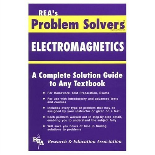 9780878915507: Electromagnetics Problem Solver (Problem Solvers Solution Guides)