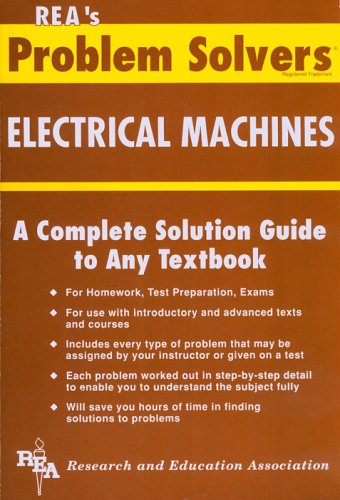 9780878915514: Electrical Machines (Problem Solvers)