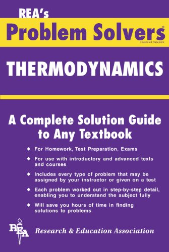 9780878915552: The Thermodynamics (Problem Solvers)