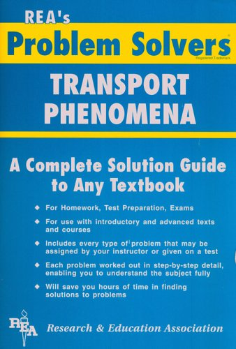 9780878915620: Transport Phenomena Problem Solver (Problem Solvers Solution Guides)