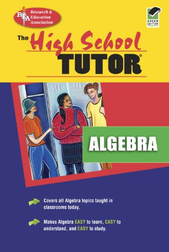 9780878915644: High School Algebra Tutor (High School Tutors Study Guides)