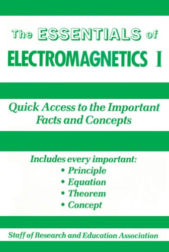 9780878915873: Electromagnetics: v.1: Vol 1 (Essential Series)