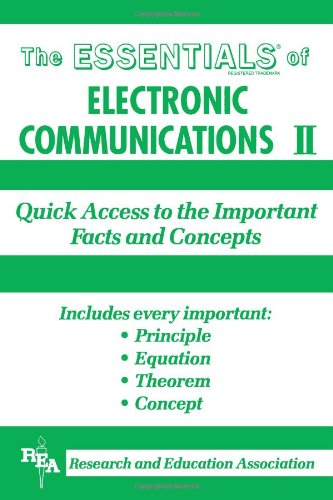 9780878915903: Essentials of Electronic Communications Two Quick Access to Impractical Facts