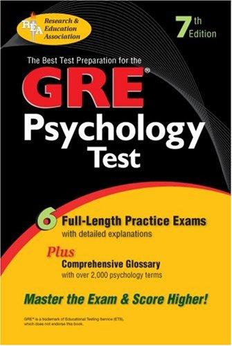 9780878915996: GRE Psychology (GRE Test Preparation)
