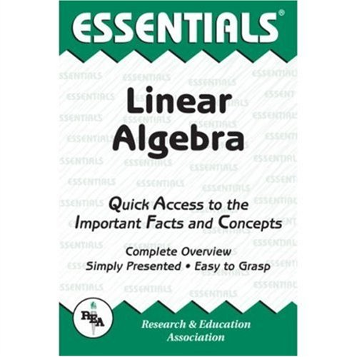 9780878916108: Linear Algebra (Essentials)