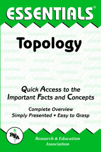 9780878916856: Topology Essentials (Essentials Study Guides)