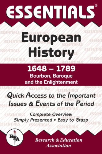 9780878917075: The Essentials of European History, 1648-1789: Bourbon, Baroque and the Enlightenment