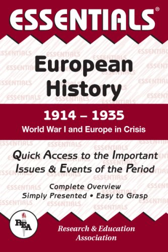 9780878917105: Essentials of European History, 1914-1935