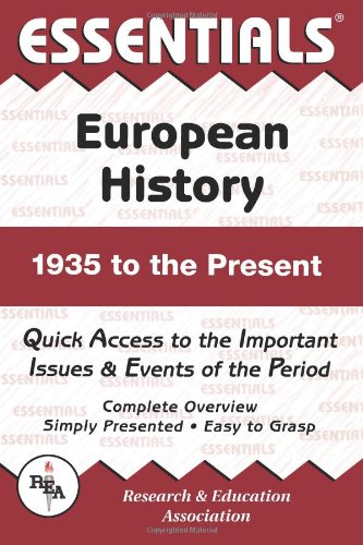 9780878917112: Essentials of European History: 1935 To the Present