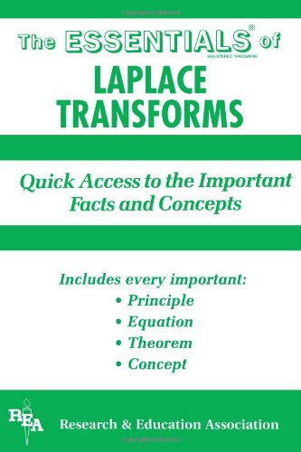 The Essentials of Laplace Transforms: Shafii-Mousavi, Morteza