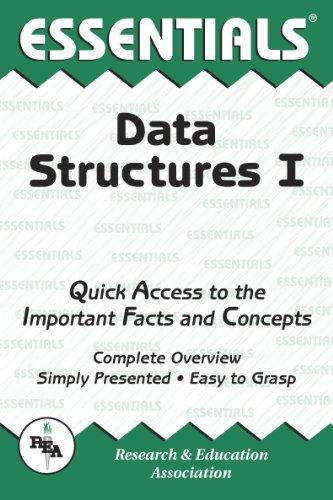 9780878917280: Data Structures I Essentials (Essentials Study Guides)