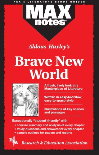 9780878917518: Brave New World (MAXNotes Literature Guides)