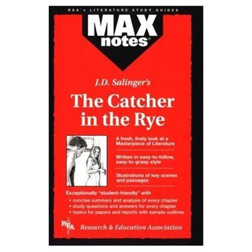 Max Notes J. D. Salinger's the Catcher: Holzman, Robert S.