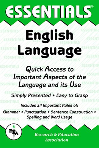 English Language Essentials (Essentials Study Guides): Hixon, Mamie Webb