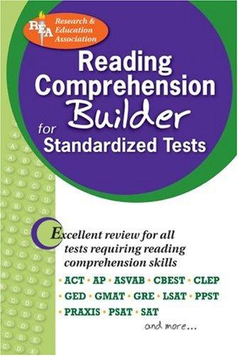 9780878917938: Reading Comprehension Builder for Admission and Standardized Tests (Test Preps)