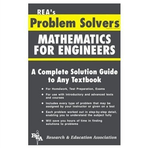 9780878918386: Mathematics for Engineers Problem Solver (Problem Solvers Solution Guides)