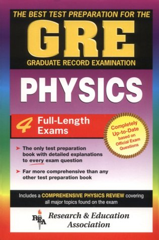 GRE Physics (GRE Test Preparation): Molitoris, Joseph