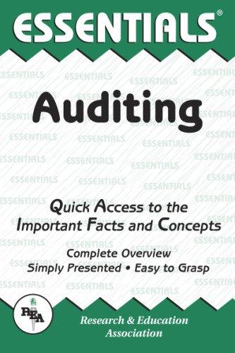 9780878918799: Auditing Essentials (Essentials Study Guides)