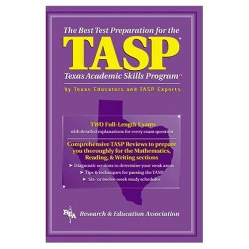 9780878918935: TASP -- The Best Test Preparation for the Texas Academic Skills Program (Test Preps)
