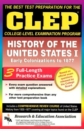 9780878918966: CLEP History of the United States I (CLEP Test Preparation)