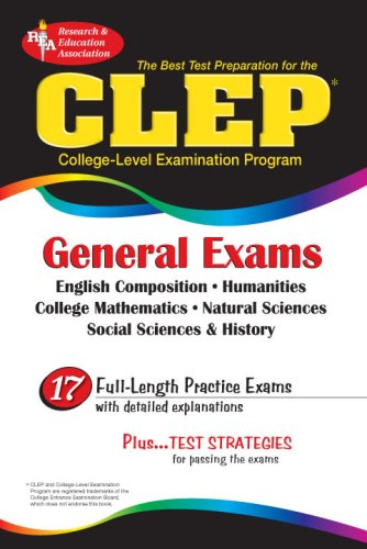 CLEP General Exam (REA) - The Best: Jospeh A. Alvarez