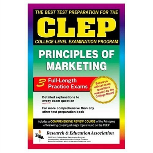 9780878919048: CLEP Principles of Marketing (REA) -The Best