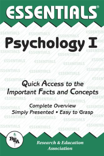 Psychology I Essentials (Essentials Study Guides) (0878919309) by Leal, Linda; Psychology Study Guides
