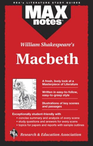 9780878919444: Macbeth (Maxnotes Literature Guides)