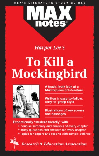 9780878919468: To Kill a Mockingbird (MAXNotes Literature Guides)