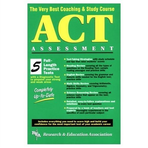 ACT Assessment (REA) - The Very Best: Charles O. Brass,
