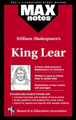 King Lear (Maxnotes Literature Guides): Ruth, Corinna Siebert