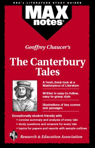 9780878919949: Canterbury Tales, The (MAXNotes Literature Guides)