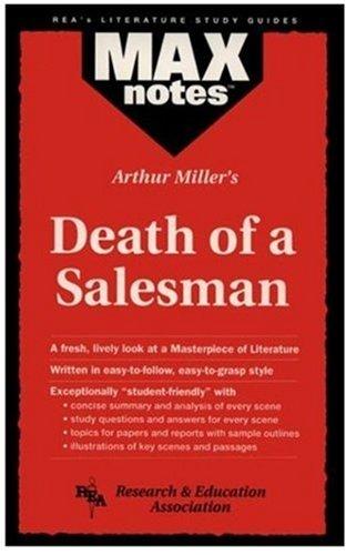 9780878919956: Arthur Miller's Death of a Salesman (MaxNotes)