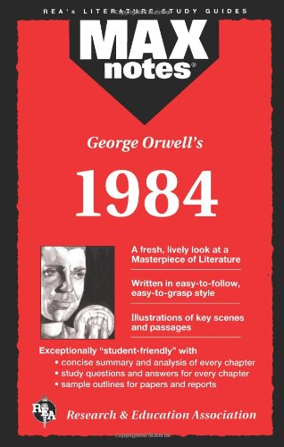 9780878919963: George Orwell's 1984 (Max Notes)