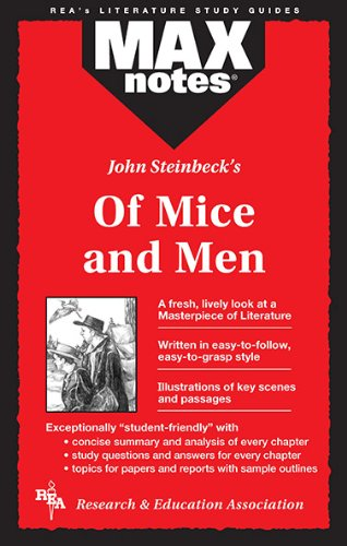 9780878919970: John Steinbeck's of Mice and Men (Max Notes)