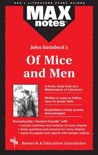 John Steinbeck's of Mice and Men (Max Notes): Scalia, Joseph E.; Shamblin, Lena