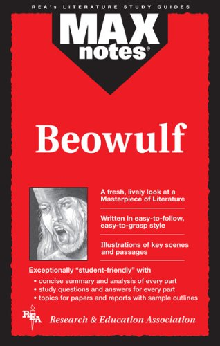 9780878919987: Beowulf (MAXNotes Literature Guides)