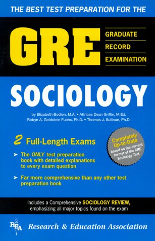 9780878919994: The Best Test Preparation for the GRE, Sociology (GRE Test)